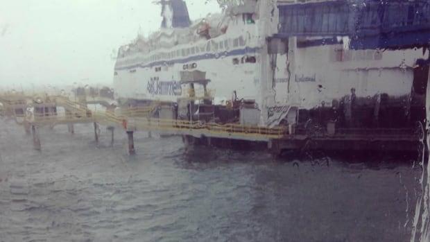 BC ferries storm