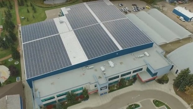 Camrose rec centre gets solar energy upgrade
