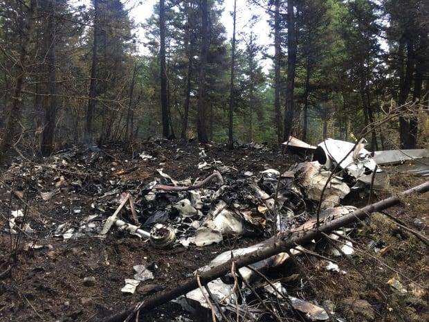 Prentice Cessna wreckage
