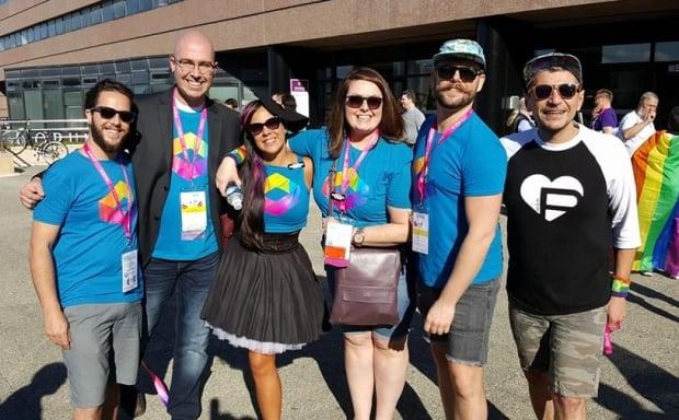 Pride Saskatoon in France for InterPride Conference oct 16 2016