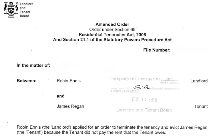 Evicted, again: 'Professional tenant' James Regan receives