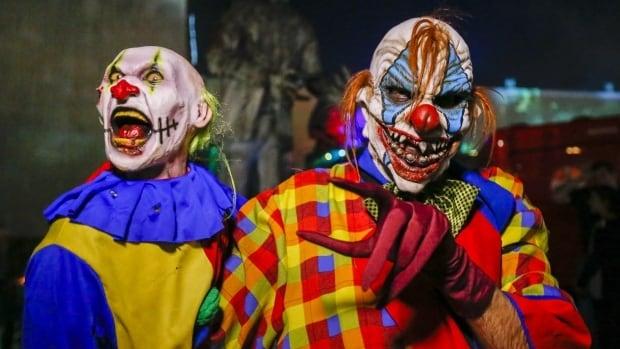 Clown masks being banned across schools in Winnipeg