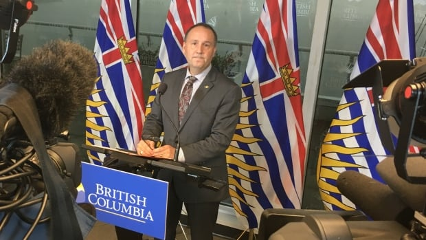 Minister Mike Bernier has fired all nine elected Vancouver School Board trustees.