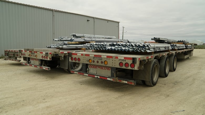Local trucking company out nearly $500K after Bipole steel supplier