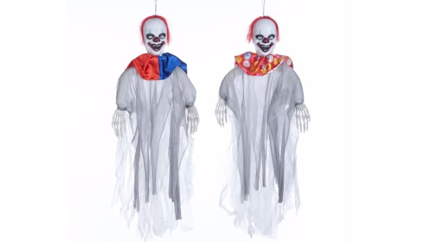 canadian tire has removed two clown products from its shelves including this 60 centimetre