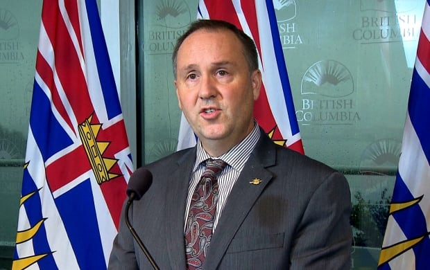 Education Minister Mike Bernier Oct 17