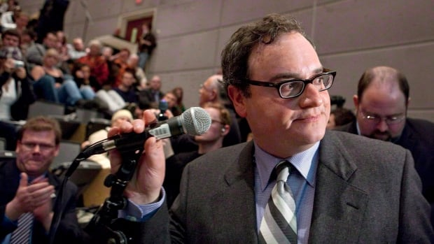 Ezra Levant is shown at the University of Ottawa in Ottawa on Tuesday, March 23, 2010.
