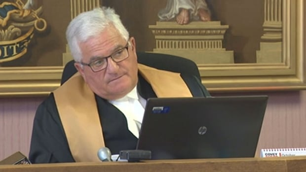 Ernest Drapeau, chief justice, Court of Appeal of New Brunswick