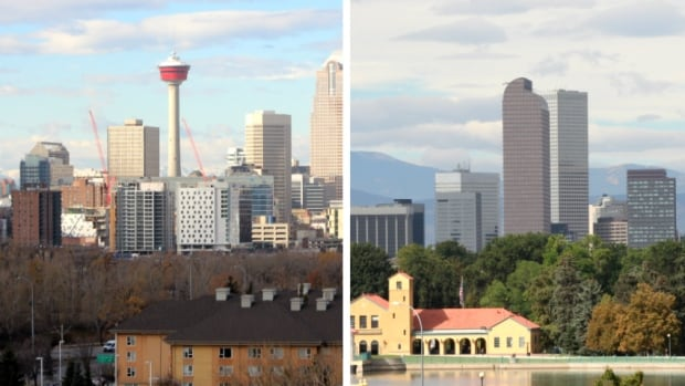 Denver and calgary a tale of 2 similar but very different cities denver and calgary a tale of 2 similar but very different cities cbc news malvernweather Gallery