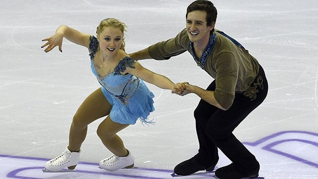 Canadian pairs skaters Julianne Seguin, left, and Charlie Bilodeau followed up a silver-medal performance at the 2015 junior worlds with a pair of Grand Prix podium finishes against top-level competition last season.