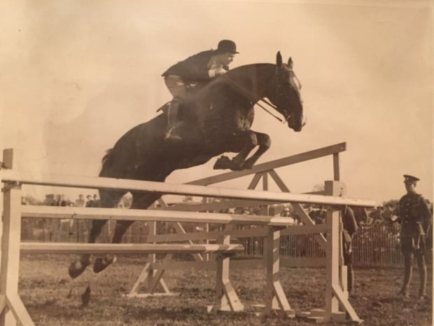 Dinnie 6 foot jump as teenager (16-ish)