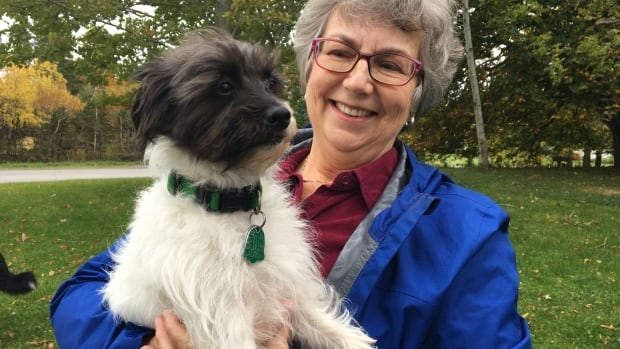 Joan Atkinson recently adopted Pippy though Elder Dog, and she hopes Pippy's previous owners has some peace of mind knowing her dog went to a new home, and not a shelter.