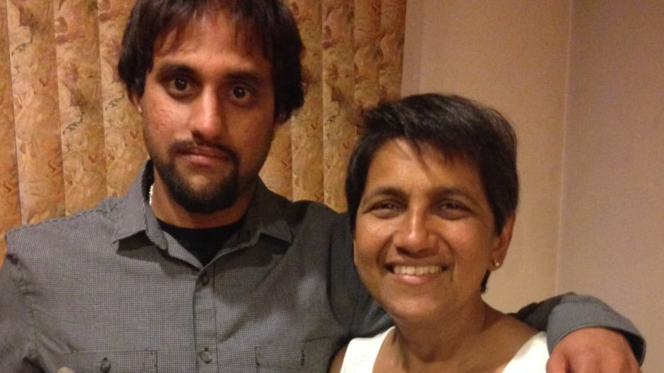 Stem cell donor Jay Sethna with Manjusha Pawagi, whose life he saved, in New York City.