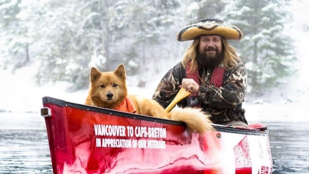 Northwestern Ontario paddler Mike Ranta said he and his dog Spitzii encountered some frosty mornings on the last leg of their journey, but overall were blessed with unseasonably warm weather on the East Coast.