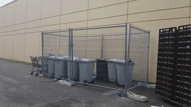 Walmart bins