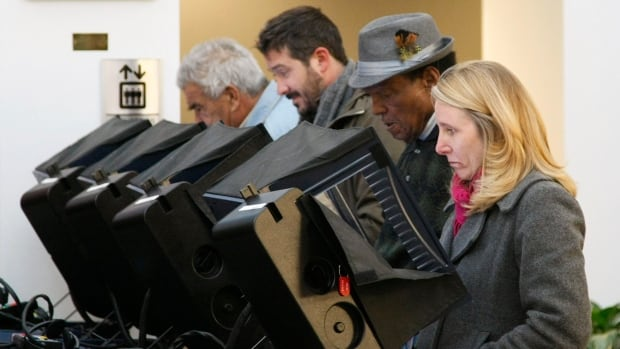 Electronic voting machines have become popular in many U.S. states, although they can be costly and unreliable.