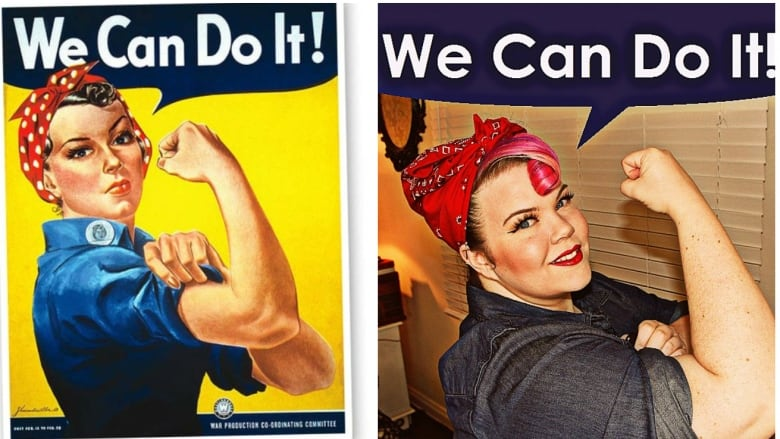 5 fast easy and fun diy halloween costumes cbc news rosie the riveter is an iconic fast easy and fun costume idea whatiworetumblrvintageortacky solutioingenieria Gallery