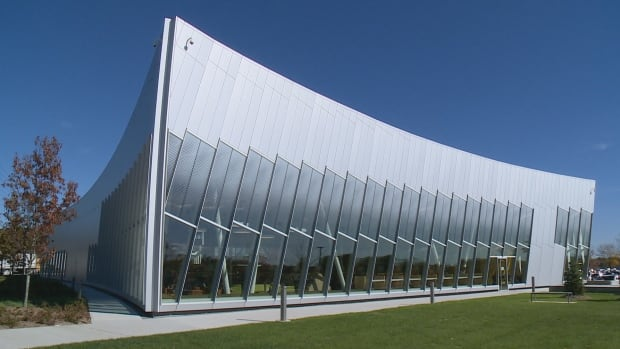 The $15-million library in the City of Vaughan features lots of light, glass walls, and open spaces.