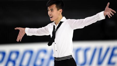 Canada's Nam Nguyen triumphs at U.S. International Figure Skating Classic