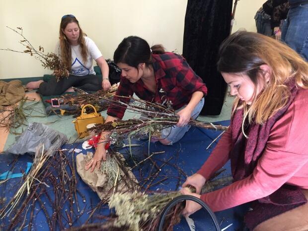 Winnipeg witches broom-making workshop