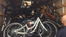 Stolen bikes Guelph Police Project Draw