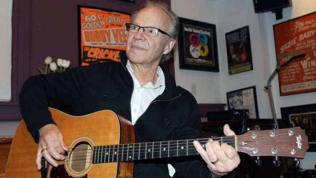 Former teen idol pop singer Bobby Vee, seen in 2013, died Monday of complications from Alzheimer's disease. He was 73.
