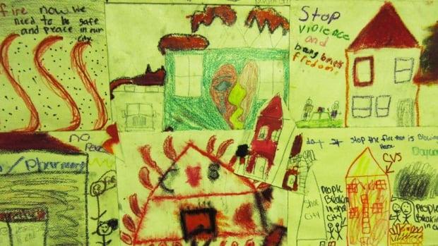 Shadow of Charm City - kid art
