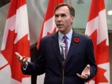 Federal Finance Minister Bill Morneau says the government has to prepare for a cycle of short-term, high turnover,  precarious employment because it's the new reality.