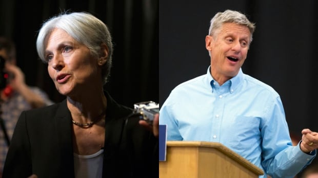 Jill Stein and Gary Johnson