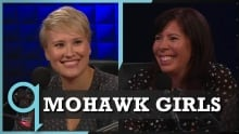 Mohawk Girls in Studio q