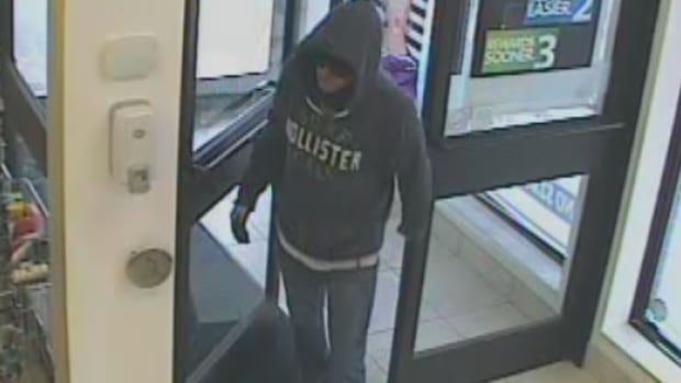 Windsor police released this surveillance photo of the alleged pharmacy robber after two late October incidents.