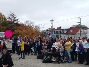 St. John's rally for Muskrat Falls