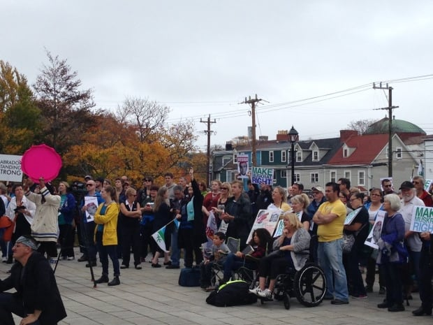 St. John's rally for Muskrat Falls