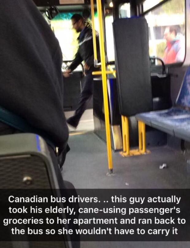 Good Samaritan bus driver
