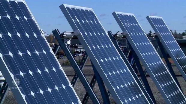 Alberta solar panels schools