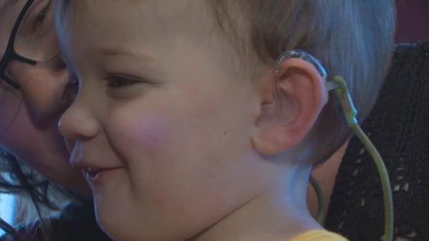 Easton Walters ear piece