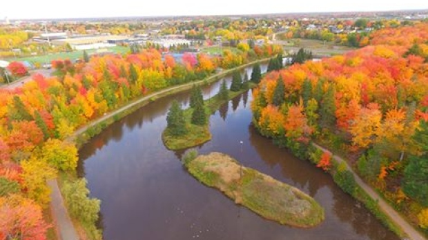 It will be sunny across New Brunswick Thursday with more rain expected to move in for Friday. Thanks to Doreen Lane Harris for this terrific shot of Centennial Park in Moncton.