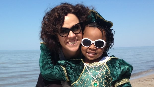 Local journalist Sue Montgomery has been sponsoring Waina Dorcelus, a girl from Haiti, for two years. Doctors say Waina, who is in Montreal getting treatment for a bone infection, will be able to go home by Christmas.