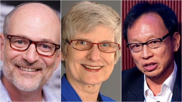 Prime Minister Justin Trudeau named 9 new senators Thursday, among them, from left, psychiatrist Harvey Chochinov, art historian Patricia Bovey and Yuen Pau Woo, a senior fellow at UBC.