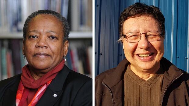 Nova Scotia social worker and educator Wanda Thomas Bernard (left) and Daniel Christmas, senior adviser for Membertou First Nation, will be sworn in some time in November.