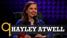Hayley Atwell brings Conviction to Studio q