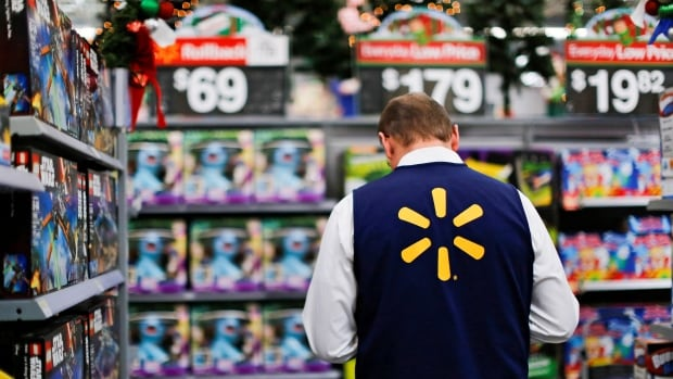 Walmart's same-store sales in Canada grew by 2.5 per cent in the second quarter, the company said.