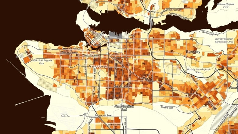 Sweet Science Trick Or Treat Map Shows Vancouver S Halloween Hotspots Cbc News