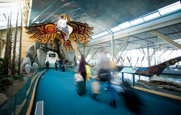 First Nations art at YVR