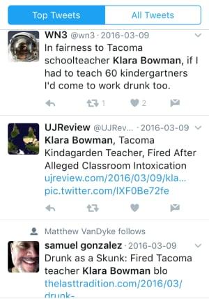 Tweets about Klara Bowman