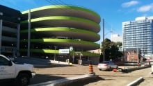 Duke Ontario parking garage downtown Kitchener