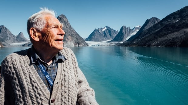 Fred Roots, seen here in Greenland in August (his last trip with the organization Students on Ice), died last week in B.C. 'I think he probably understood the planet better than anybody I've ever met,' said friend Geoff Green.