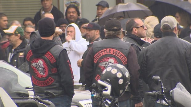 Bob Green Memorial Hells Angels members