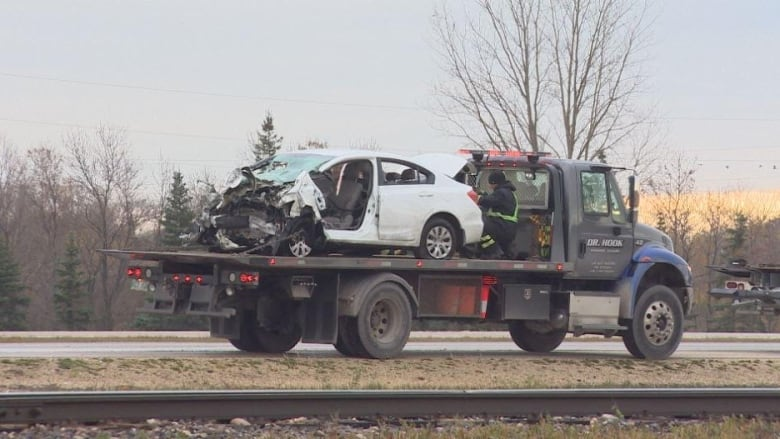 Manitoba's Highway 75 re-opened after crash | CBC News