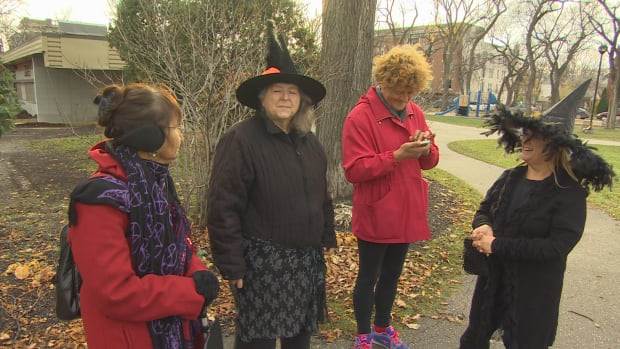 Winnipeg wiccans gathered in Vimy Ridge Park on Sunday to celebrate the Samhain Ritual.